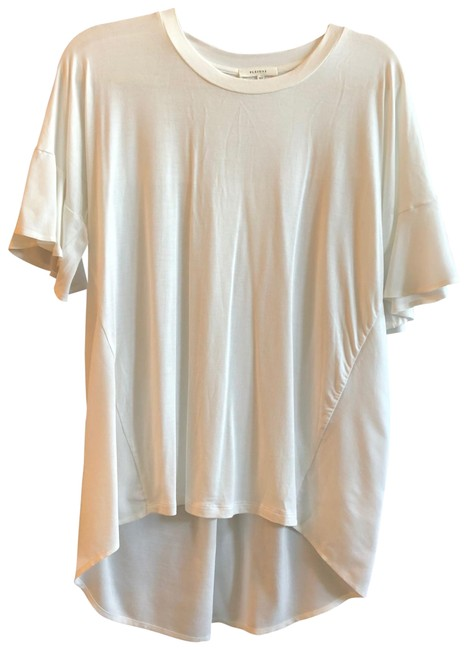 Preload https://item5.tradesy.com/images/pleione-white-tunic-blouse-size-6-s-23818939-0-1.jpg?width=400&height=650