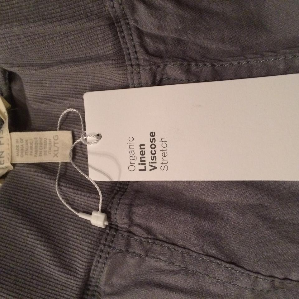 5d82ec60f357 Eileen Fisher Cargo Pants Pewter Image 11. 123456789101112