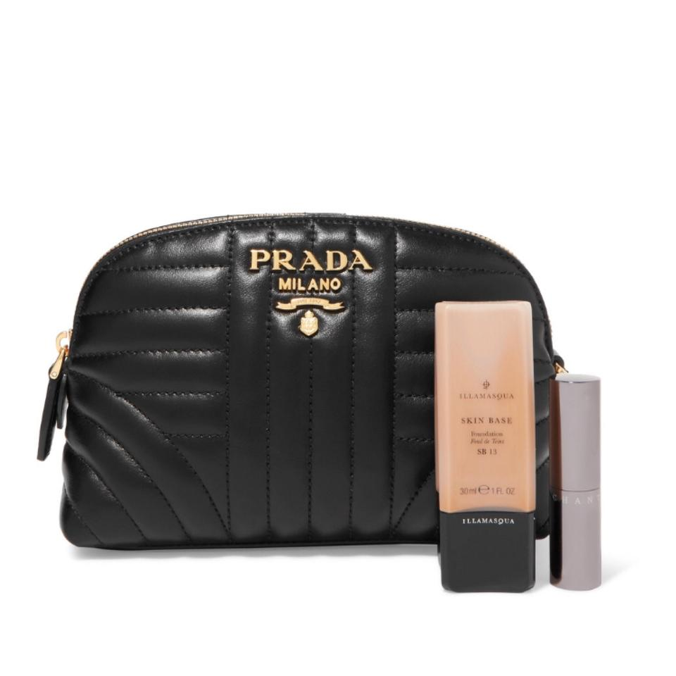 816e85c4c3ac Prada Pouch Quilted Leather Cosmetic Bag - Tradesy