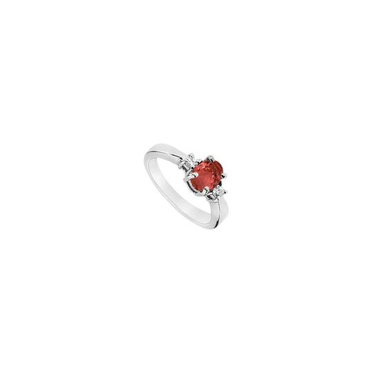 Preload https://img-static.tradesy.com/item/23819408/white-red-created-ruby-and-cubic-zirconia-925-sterling-silver-110-ct-tgw-ring-0-0-540-540.jpg