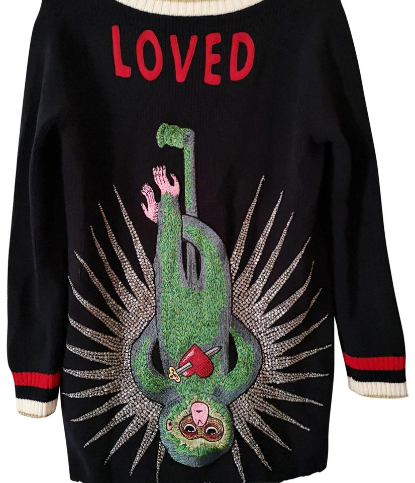 9a7daf258 Gucci Limited Edition Loved Monkey Embroidery Cardigan Free Limited ...