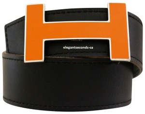 Hermès Constance 32MM/80CM Auth. Hermes Reversible Belt Kit Enamel Buckle