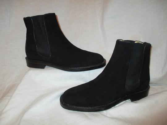 Escada Suede Leather Ankle 001 black Boots Image 1