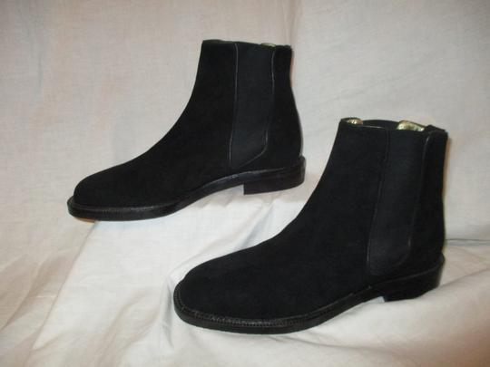 Escada Suede Leather Ankle 001 black Boots Image 2