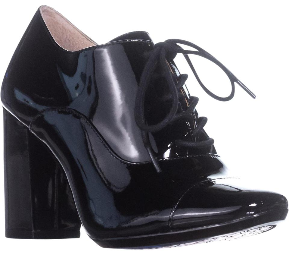 Calvin Klein Black Cailey 35. Block-heel Ankle Patent / 35. Cailey Boots/Booties 4696a1