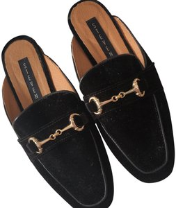 Steven by Steve Madden Black (w/ Gold hardware) Flats
