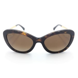 Chanel Cat Eye Gradient Brown Polarized 5340-H-A C.714/S9 Sunglasses