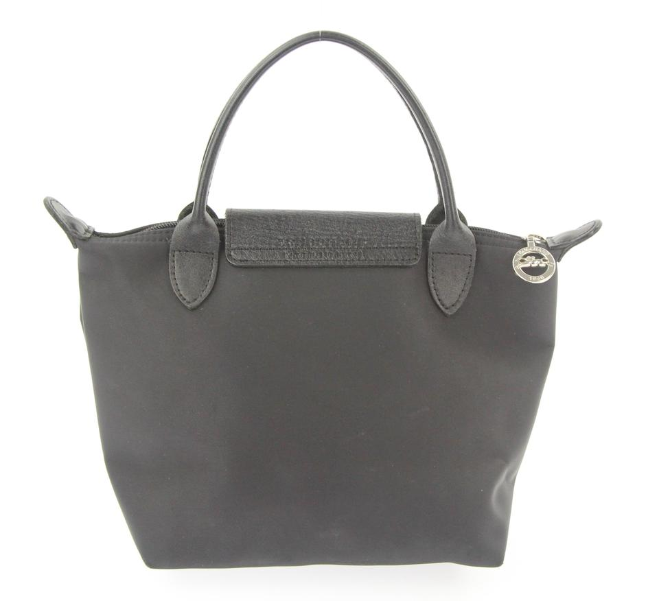 11753ec46861 Longchamp Mini Le Pliage Black Nylon Tote - Tradesy