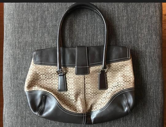 Coach Satchel in Chocolate brown Image 1
