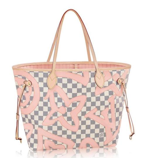 Preload https://img-static.tradesy.com/item/23820904/louis-vuitton-neverfull-mm-damier-azur-tahitienne-multicolor-canvas-tote-0-0-540-540.jpg
