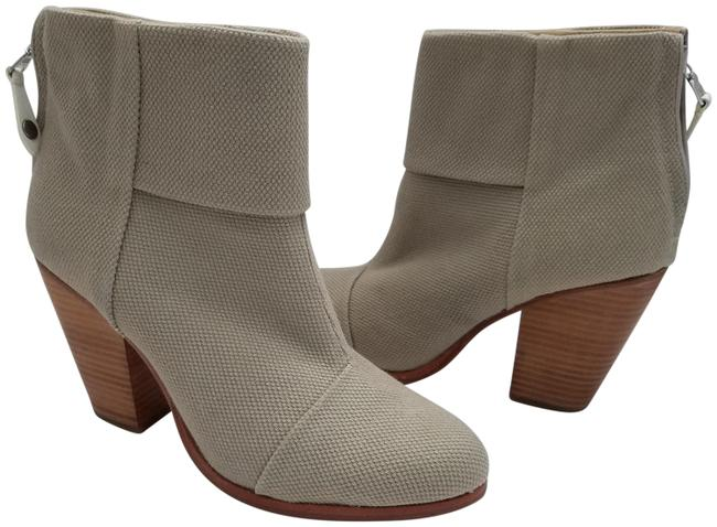 Item - Taupe Classic Newbury Canvas Womens Boots/Booties Size EU 41 (Approx. US 11) Regular (M, B)