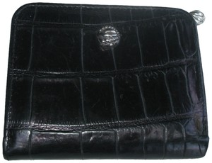 Brighton Croc Embossed Leather Compact