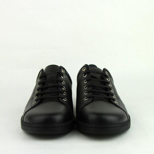 Gucci Leather Sneaker Black Athletic Image 2