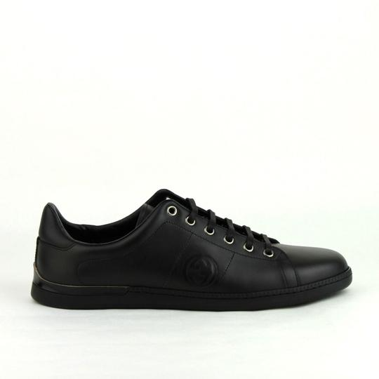 Gucci Leather Sneaker Black Athletic Image 5