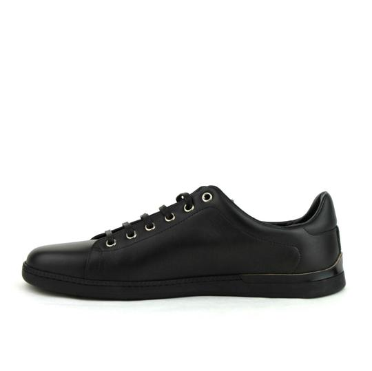 Gucci Leather Sneaker Black Athletic Image 6