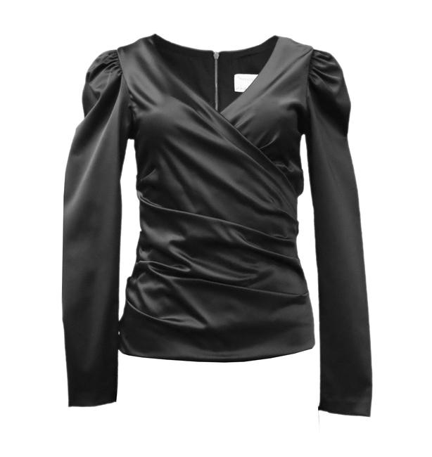 Preload https://img-static.tradesy.com/item/23821322/nicole-miller-black-logan-stretch-satin-night-out-top-size-12-l-0-0-650-650.jpg