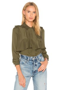 FRAME Button Down Shirt army