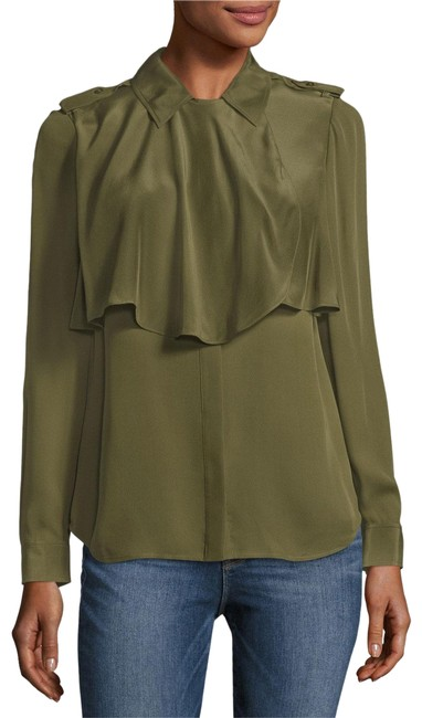 FRAME Button Down Shirt army Image 1