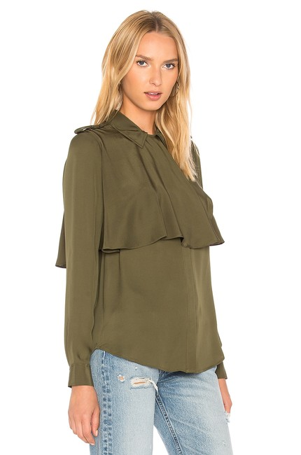 FRAME Button Down Shirt army Image 4