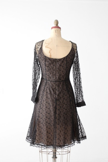 ERDEM Lace Fit And Flare A-line Dress Image 3