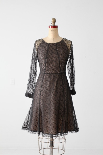 ERDEM Lace Fit And Flare A-line Dress Image 4