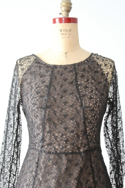 ERDEM Lace Fit And Flare A-line Dress Image 6