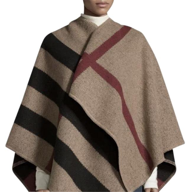 Preload https://img-static.tradesy.com/item/23821511/burberry-women-s-mega-check-wool-cashmere-ponchocape-size-os-one-size-0-1-650-650.jpg