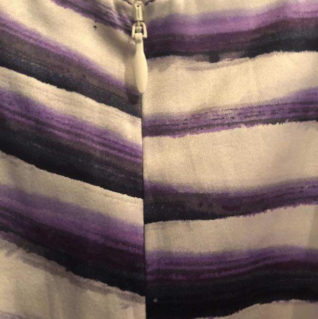Cache Night Out Silk purple & white Halter Top Image 5