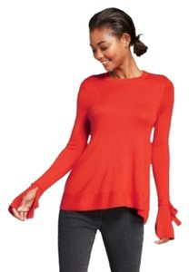 A New Day Sleeves Top Red