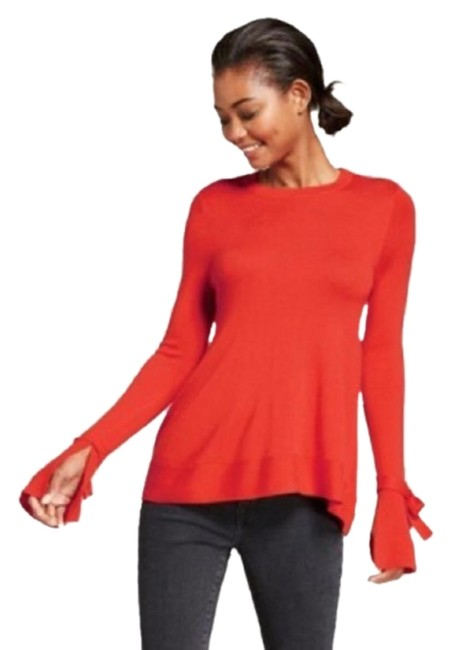 Preload https://img-static.tradesy.com/item/23821706/a-new-day-red-blouse-size-2-xs-0-1-650-650.jpg