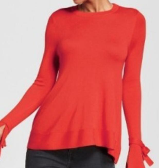 A New Day Sleeves Top Red Image 1