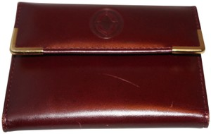Buxton Buxton Heiress red coin purse leather