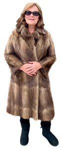 Other Vintage Bohemian Imported Petite Fur Coat