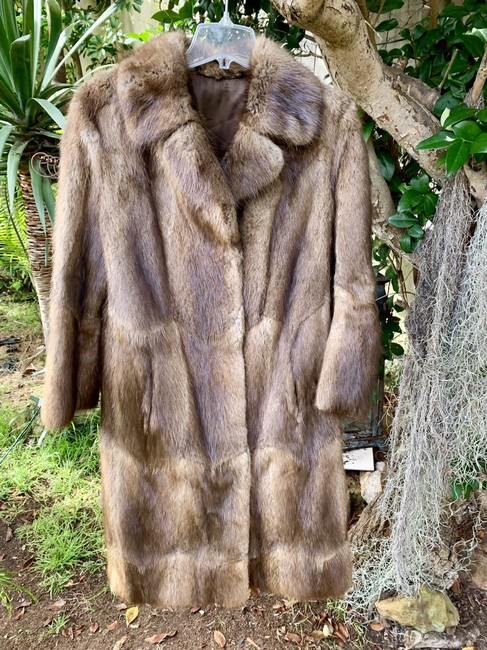 Other Vintage Bohemian Imported Petite Fur Coat Image 1