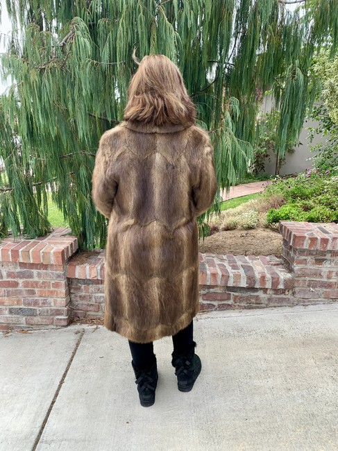 Other Vintage Bohemian Imported Petite Fur Coat Image 3
