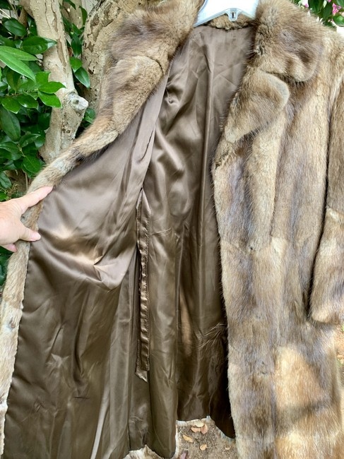 Other Vintage Bohemian Imported Petite Fur Coat Image 5