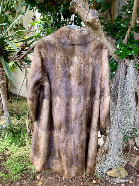 Other Vintage Bohemian Imported Petite Fur Coat Image 6