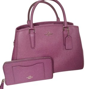 Coach New With Tags Satchel in Mauve