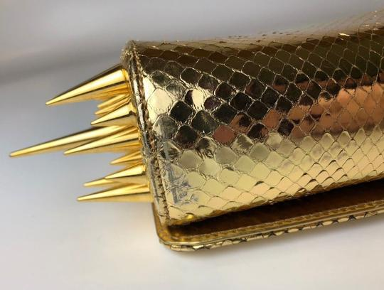 Christian Louboutin gold Clutch Image 11