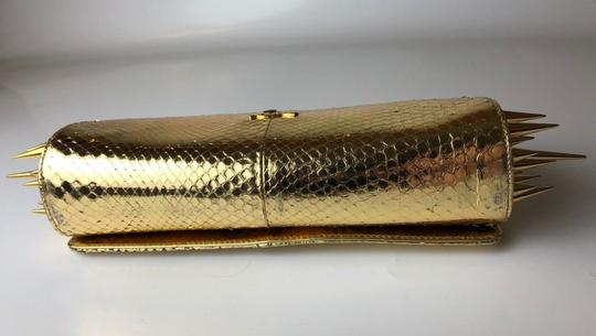Christian Louboutin gold Clutch Image 2