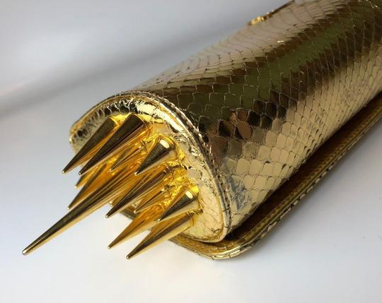 Christian Louboutin gold Clutch Image 3
