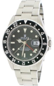 Rolex GMT-Master II Black Dial 40MM Steel Oyster 16710