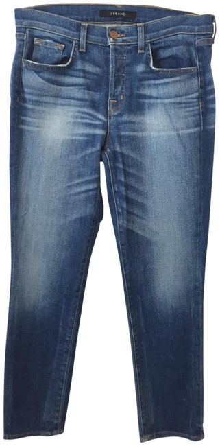 Item - Blue Medium Wash Caitland Relaxed Fit Jeans Size 29 (6, M)