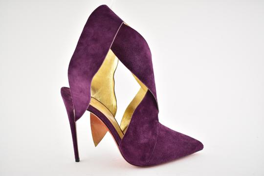 Christian Louboutin Stiletto Pigalle Strass Crystal Follies purple Pumps Image 1