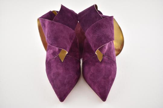 Christian Louboutin Stiletto Pigalle Strass Crystal Follies purple Pumps Image 5