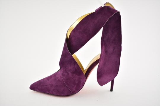 Christian Louboutin Stiletto Pigalle Strass Crystal Follies purple Pumps Image 7
