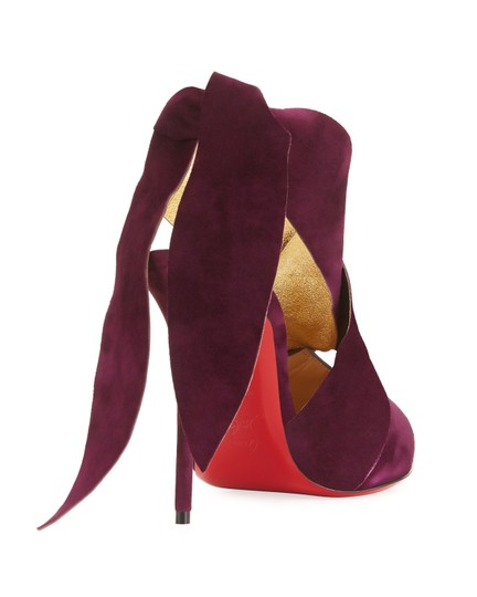 Christian Louboutin Stiletto Pigalle Strass Crystal Follies purple Pumps Image 9
