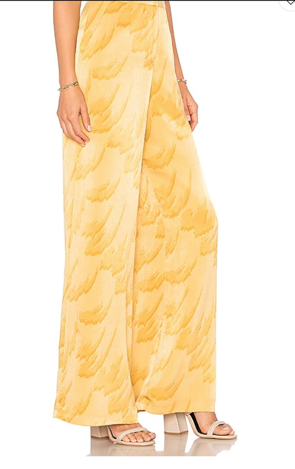 8b6e41b99193 House of Harlow 1960 Yellow Feather 'mona' In Pants Size 0 (XS, 25 ...