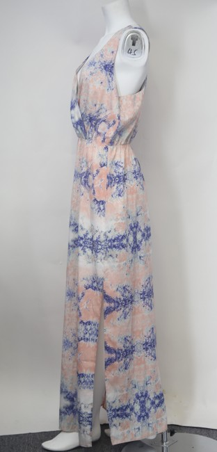 * Mystic Waters Maxi Dress by W118 by Walter Baker Blue Pink Purple V-neck Sleeveless Image 1