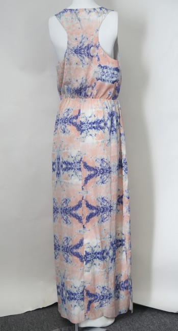 * Mystic Waters Maxi Dress by W118 by Walter Baker Blue Pink Purple V-neck Sleeveless Image 2